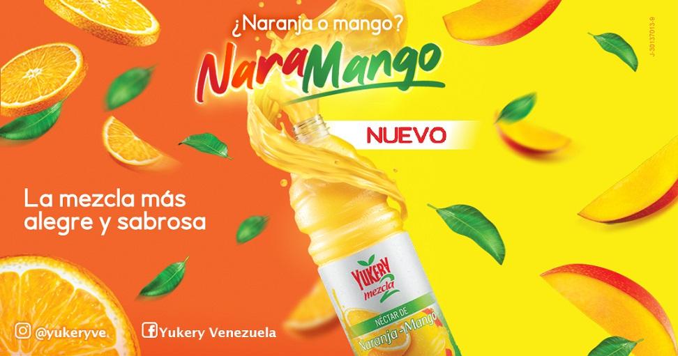 Yukery presenta la mezcla más alegre y sabrosa con su nuevo sabor Naramango