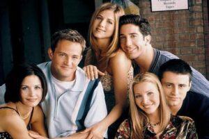 Courteney Cox habla sobre la grabación del emotivo episodio de reunión de 'Friends'