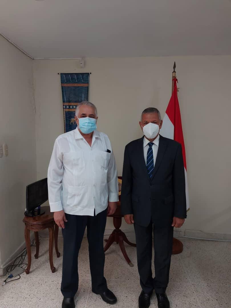 ENCUENTRO  CUBA -IRAK   EN CARACAS