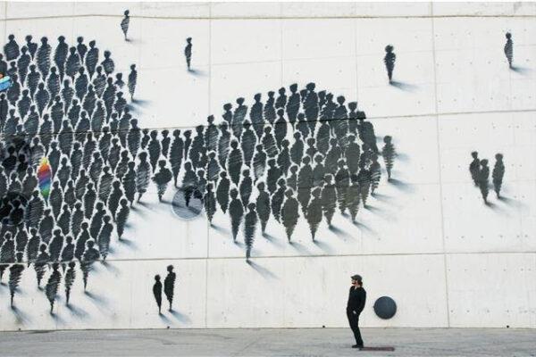 El trazo urbano de SUSO33 toma la galería Odalys de Madrid