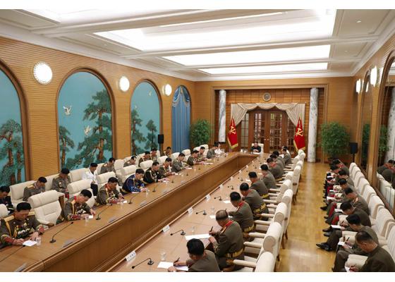 Estimado compañero Kim Jong Un dirige segunda reunión ampliada del VIII Período de la CMC del PTC