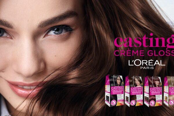Descubre la coloración Casting Crème Gloss de L'Oréal Paris: ¡El producto perfecto para teñirse el cabello sin miedo y sin daños!