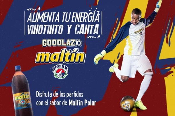 Maltín Polar, de la mano de Deyna Castellanos y Wuilker Faríñez llenarán de energía vinotinto a los fanáticos del fútbol
