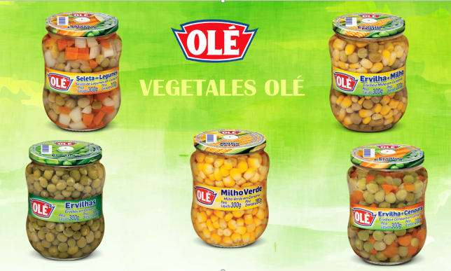 Dale frescura, sabor y variedad a tus comidas con la línea de vegetales OLÉ