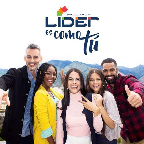 """''Líder es como tú"""" La nueva campaña que impulsa el centro comercial Líder"""