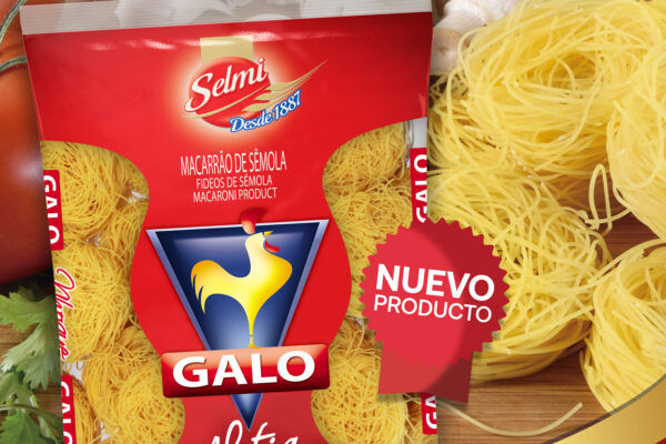 Galo incorpora un nuevo producto a su portafolio  Pasta Aletria