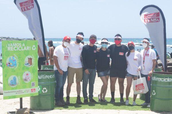 Red por el Planeta: Coca-Cola FEMSA Venezuela inaugura punto ecológico en Playa Los Cocos