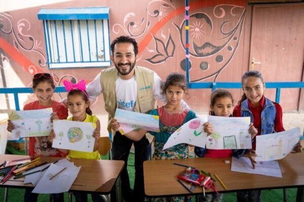 UNICEF NOMBRA EMBAJADOR REGIONAL AL ACTOR AHMED HELMY