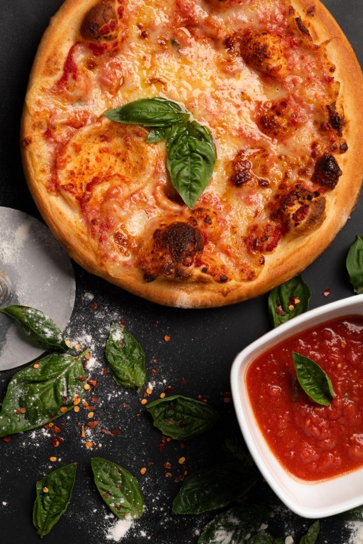Soho American Gourmet: El escenario perfecto para una pizza vegana