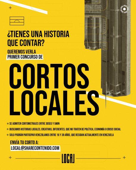 Cortos Locales, el concurso que te impulsa a contar historias de origen nacional