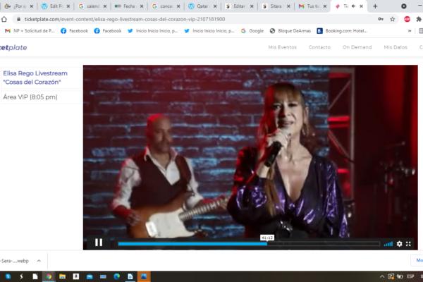 """Pasamos un rato divino en el Livestream de Elisa Rego """"Cosas del Corazón"""""""