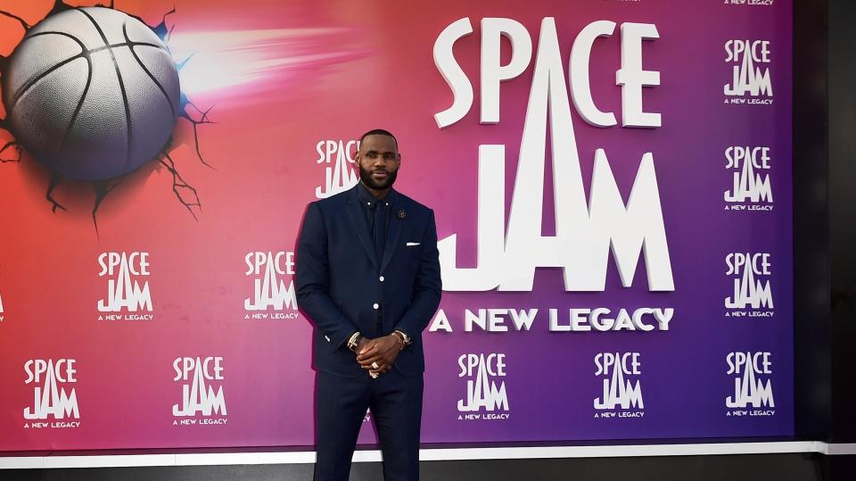 LeBron James ansioso por estar a la altura de Jordan en la secuela de 'Space Jam'