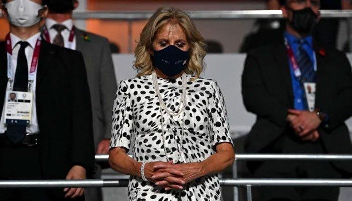 Jill Biden se une a la delegación de Estados Unidos para la ceremonia de apertura de Tokio
