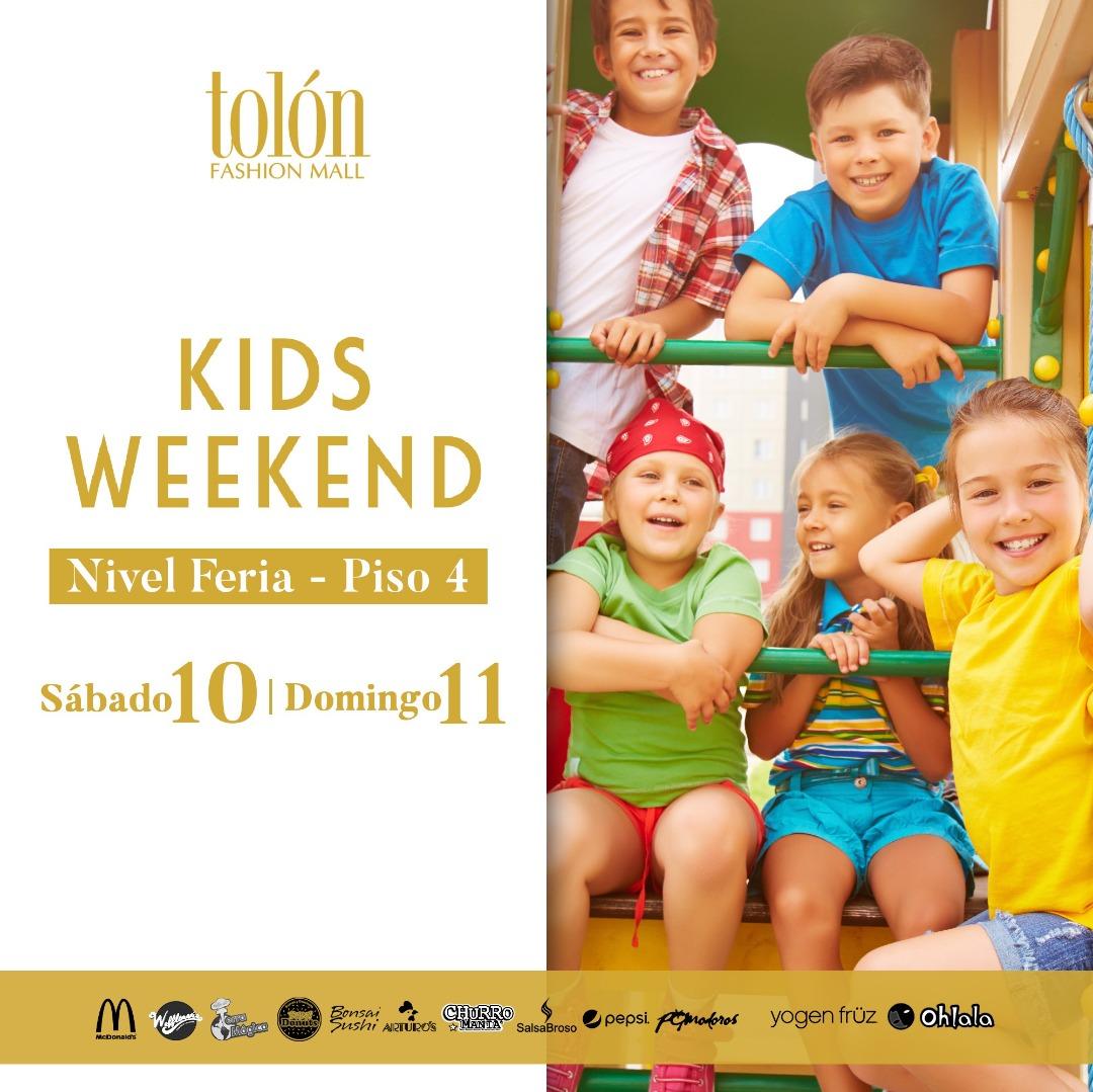 El mes de Julio está dedicado a los niños en el Tolón Fashion Mall