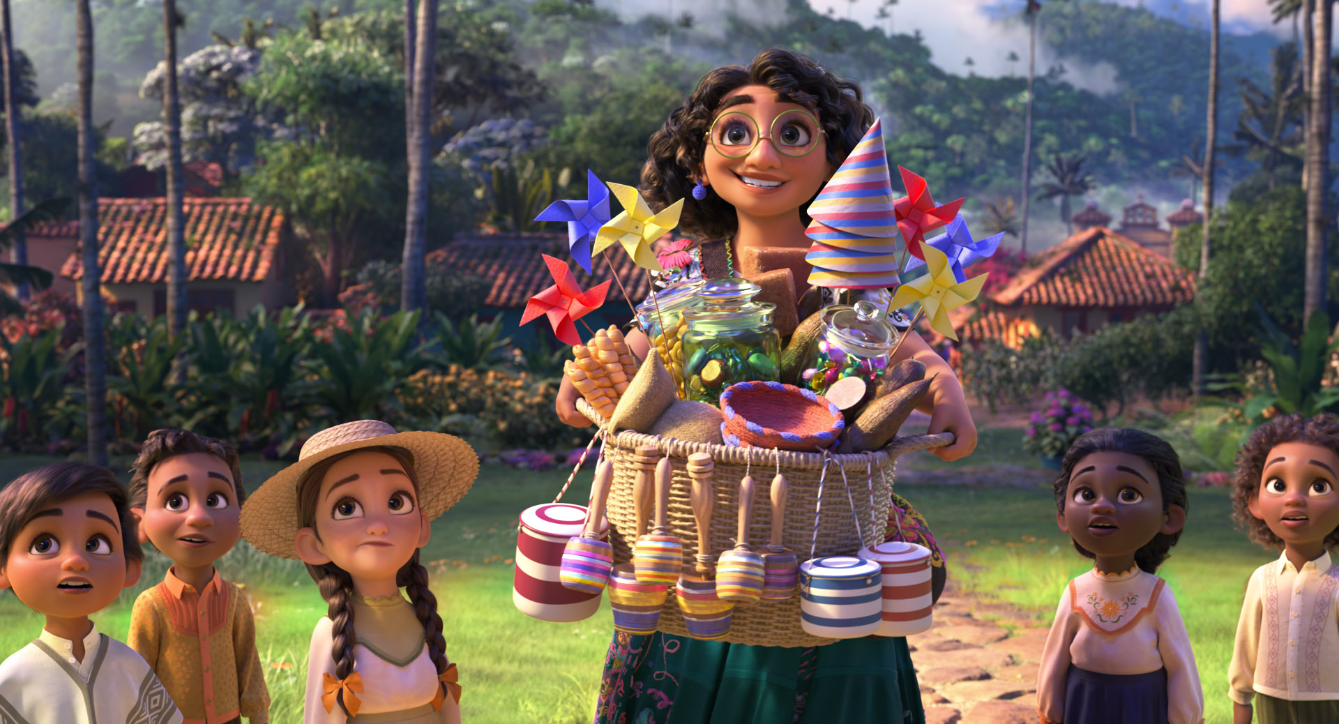 ¡Disney revela el primer tráiler de ENCANTO!