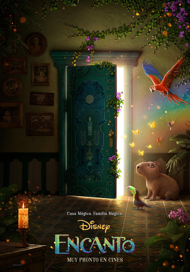 Disney presenta el primer afiche de su nueva película ENCANTO