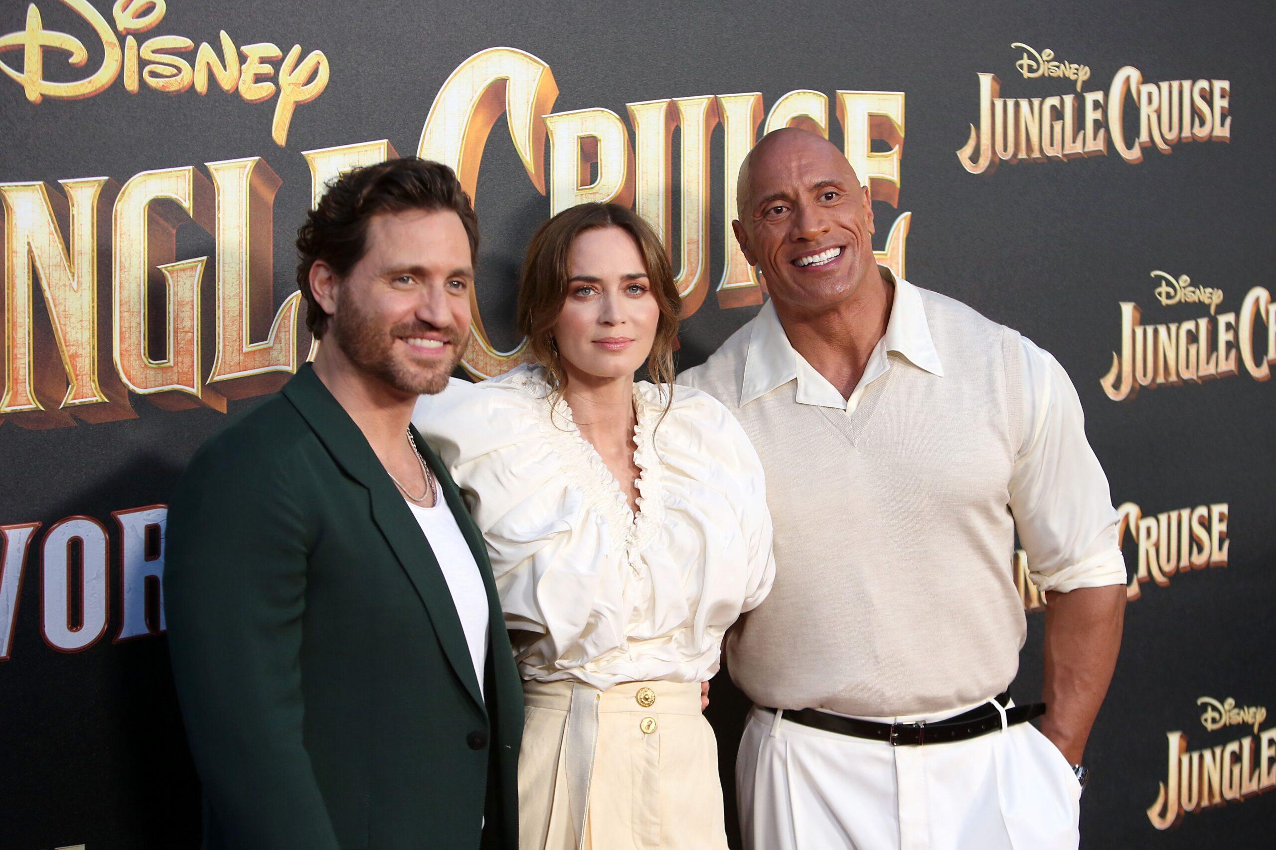 JUNGLE CRUISE celebró su estreno mundial en Disneyland