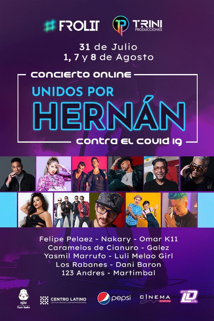 Unidos por Hernán un canto a la vida y esperanza
