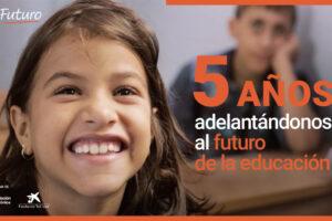 """Fundación Telefónica y Fundación """"la Caixa"""" llevan educación digital a 19,7 millones de niños de 40 países en cinco años"""