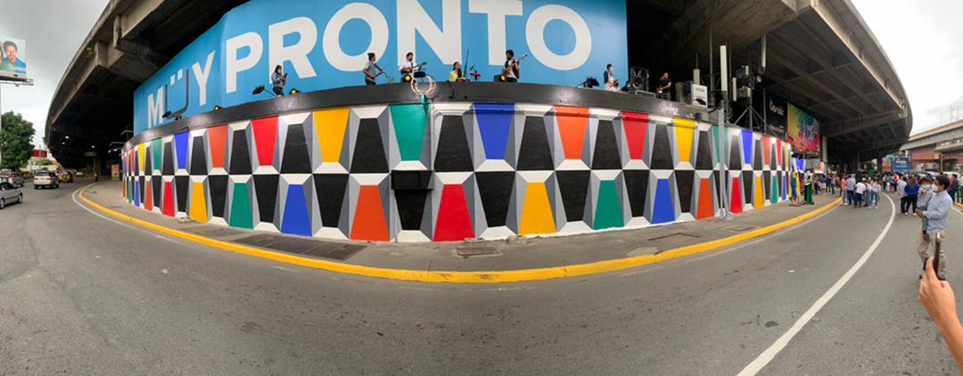 Caracas se cubre de color con Pinturas Pineco