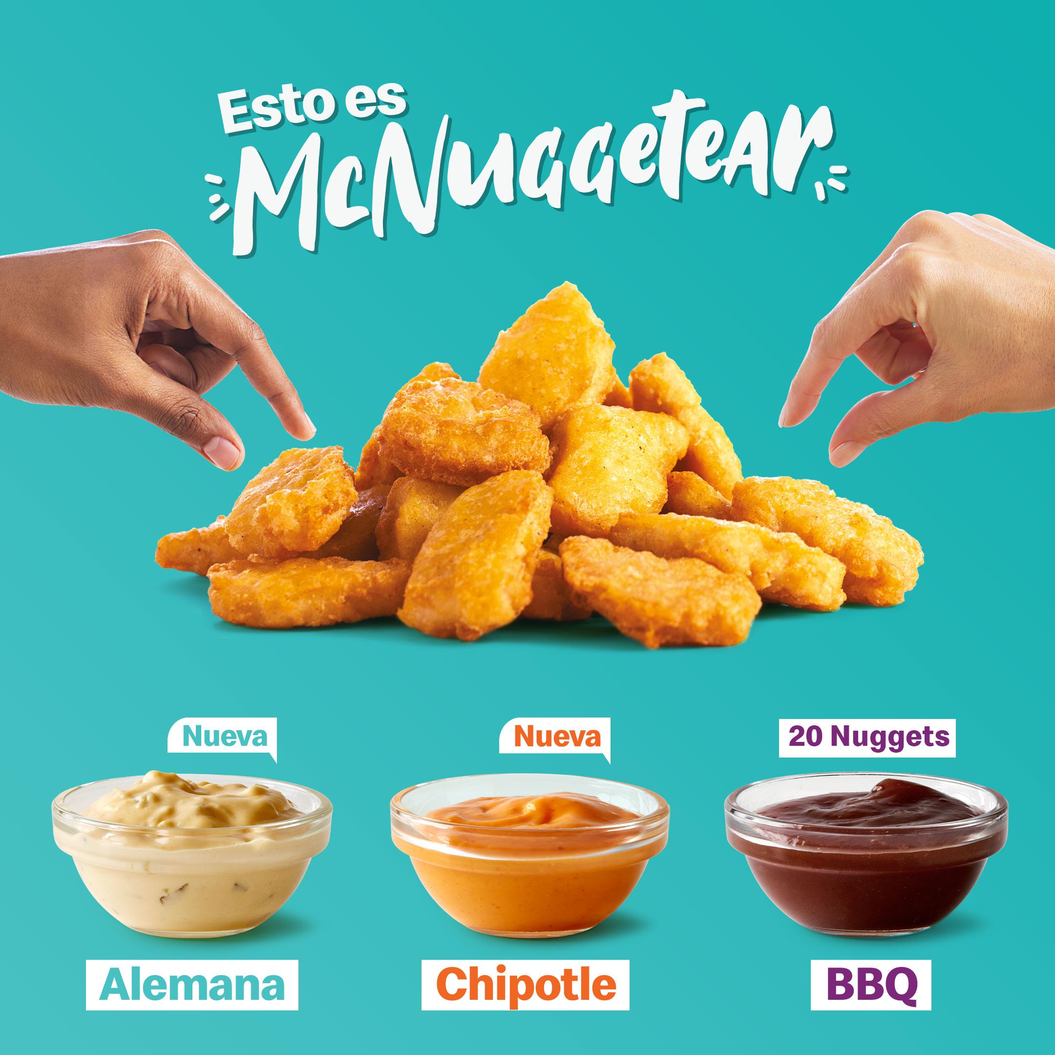 McDonald's y Yummy lanzan Pollo McCrispy