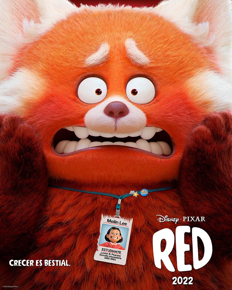 Disney y Pixar revelan el primer adelanto de RED