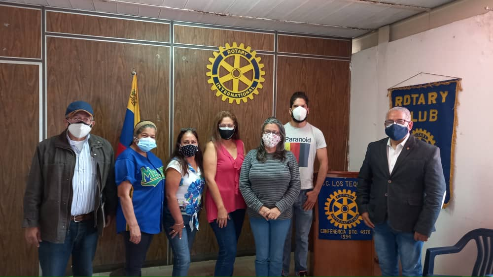 Rotary Los Teques estrena nueva junta directiva