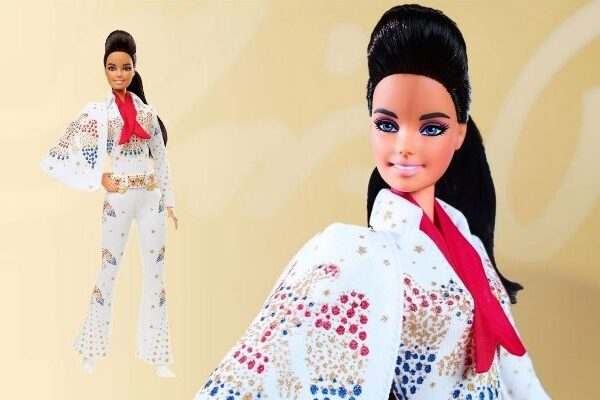Barbie rinde homenaje a Elvis Presley con una muñeca de colección