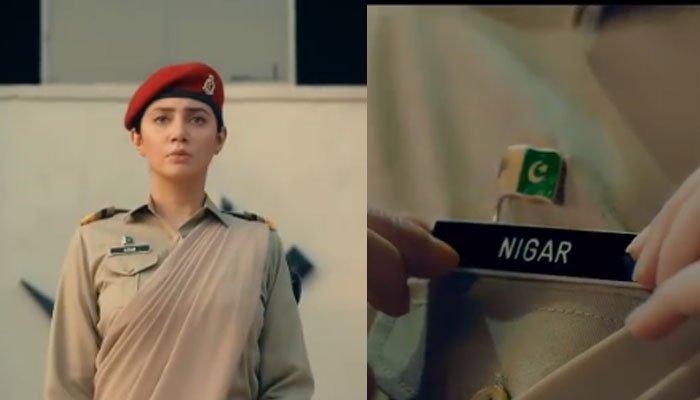 Mahira Khan interpreta a 'la primera general femenina de tres estrellas de Pakistán' en 'Ek Hai Nigar'