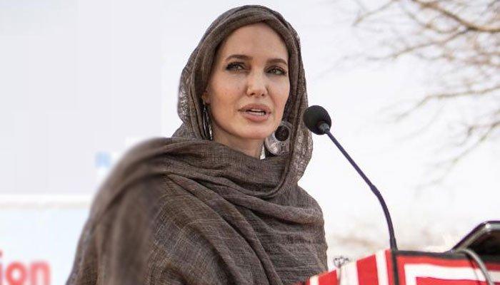 Después del príncipe Harry, Angelina Jolie expresa su preocupación por la situación de Afganistán