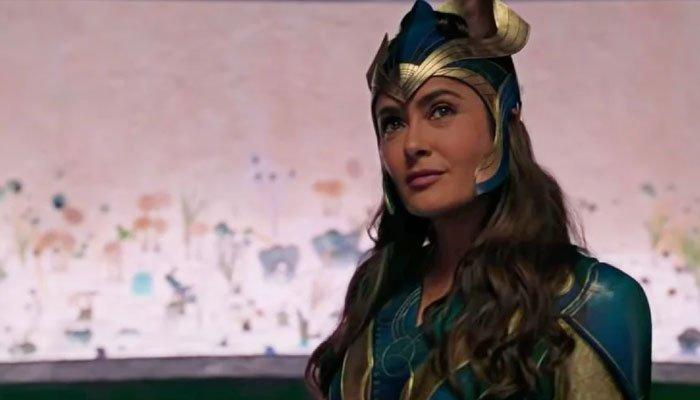 Salma Hayek revela que estuvo a punto de decir que no a su papel en 'Eternals' de Marvel