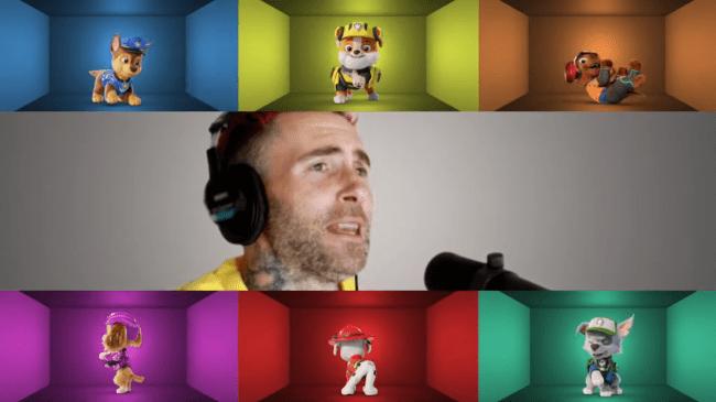 Good Mood de Adam Levine es el nuevo tema musical de Paw Patrol: La Película