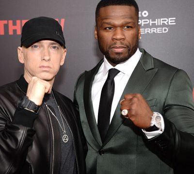 El rapero 50 Cent llama a Eminem leyenda