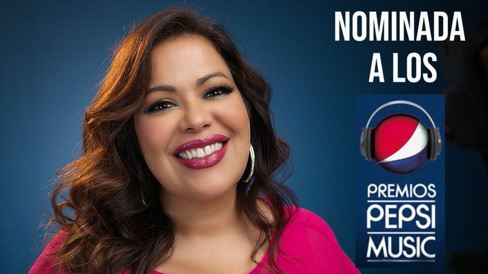 La cantante venezolana Inés María Bravo es nominada a los Premios Pepsi Music 2021