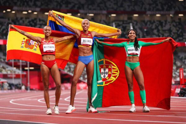 Yulimar Rojas  consigue el oro en los Juegos Olímpicos y hace historia en el triple salto