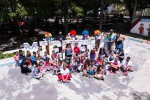 «Mia Foundation» regaló sonrisas a los más pequeños en el lanzamiento de «Micheland»