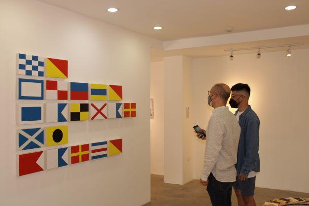 """La exposición""""La trayectoria inédita"""" quedó formalmente abierta al público"""