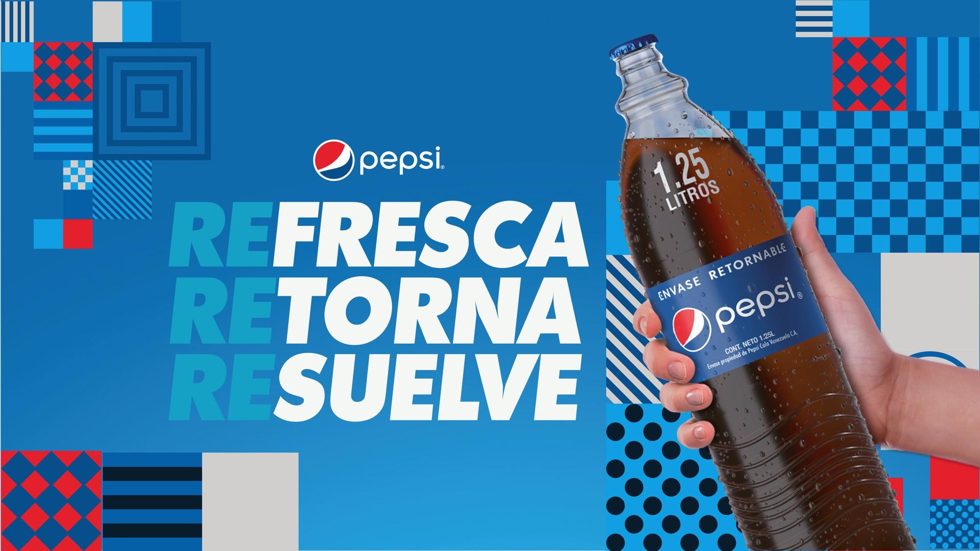 Pepsi estrena botella retornable de 1,25 litros