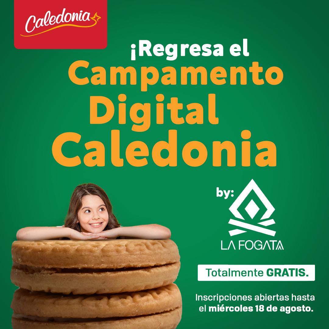 """Galletas Caledonia viene con la segunda edición de su """"Campamento Caledonia"""""""