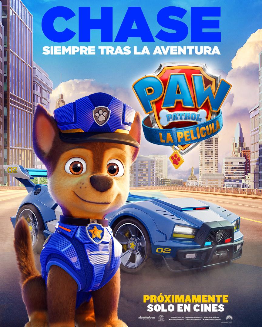 Paw Patrol: La Película de Paramount Pictures llega este viernes 20