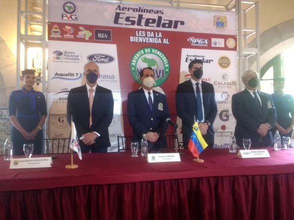 GOLFISTAS DEL EXTERIOR JUGARÁN  EN XXXVI ABIERTO DE VENEZUELA,COPA AEROLÍNEAS ESTELAR