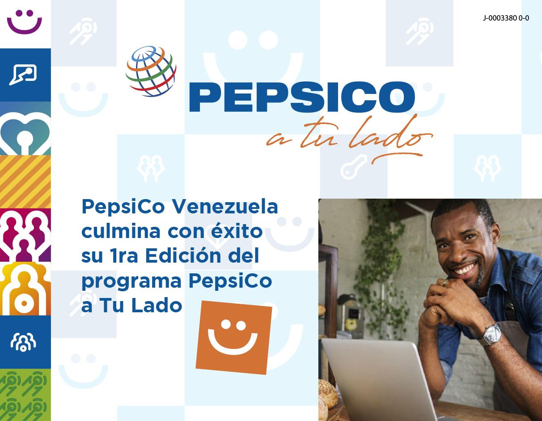 """PepsiCo Venezuela culmina con éxito la 1ra Edición de su programa """"PepsiCo a Tu Lado"""""""
