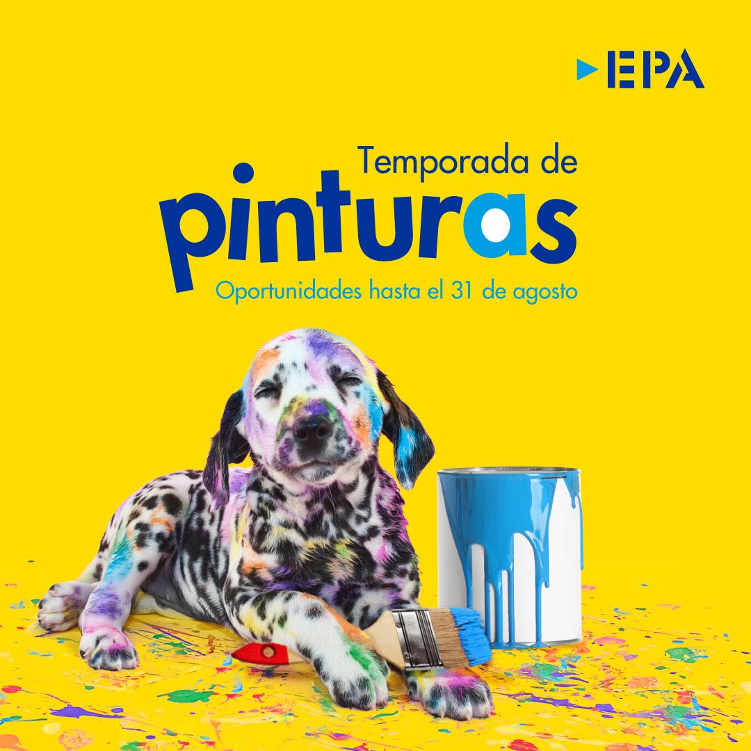 Durante todo el mes de agosto, EPA ofrece temporada de pintura