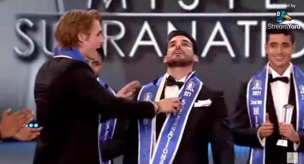 Varo Vargas de Perú gana el Mister Supranacional 2021