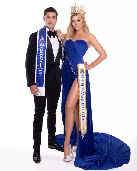 Miss y Míster Supranational Venezuela 2021 están listos para ganar en Polonia