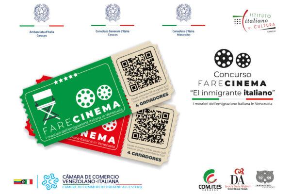"""Este 2021 regresa el concurso de cortometrajes """"Fare Cinema – El inmigrante italiano"""""""
