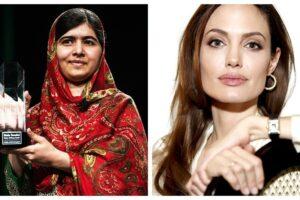 Malala dice que está orgullosa de su amiga Angelina Jolie por escribir un libro para niños