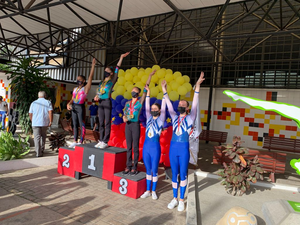 Gimnastas  del Centro Italiano Venezolano de Caracas brillan en el Campeonato Nacional Interclubes
