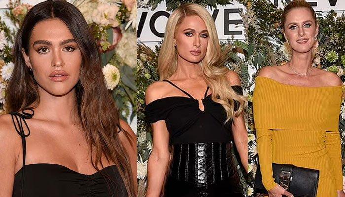 Amelia Hamlin, Paris y Nicky Hilton derrochan  glamour en una sesión de estilismo en NYFW