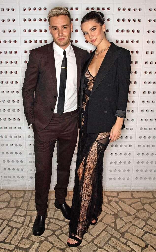 Liam Payne y Maya Henry posan juntos en la alfombra roja del London Fashion Week
